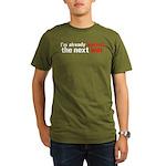 Against The Next War Organic Men's T-Shirt (dark)