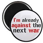 Against The Next War Magnet