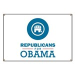 Republicans for Obama Banner