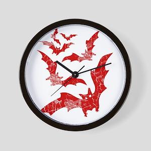 Vintage, Bats Wall Clock