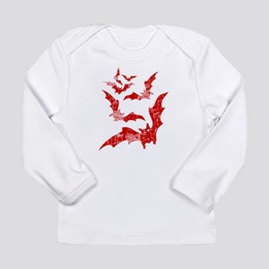 Vintage, Bats Long Sleeve Infant T-Shirt