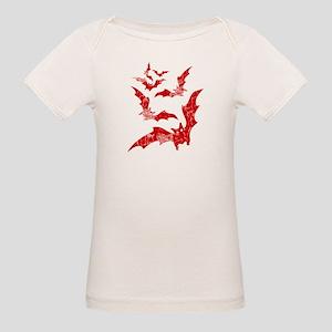 Vintage, Bats Organic Baby T-Shirt