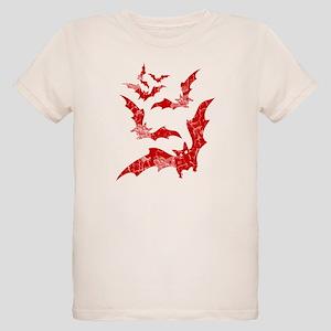 Vintage, Bats Organic Kids T-Shirt
