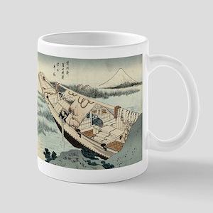 Shibori of Joshu - Hokusai Katsushika - 1849 Mugs