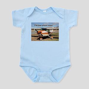 I'm just plane crazy: high wing Infant Bodysuit