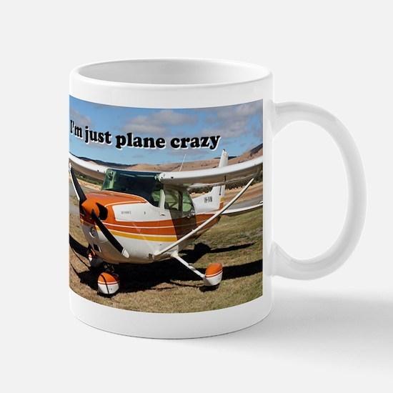 I'm just plane crazy: high wing Mug