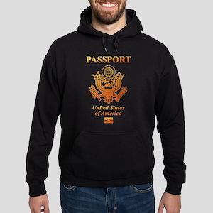 PASSPORT(USA) Hoodie (dark)