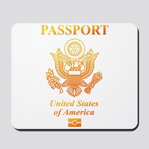PASSPORT(USA) Mousepad