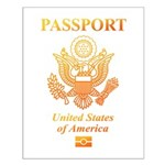 PASSPORT(USA) Small Poster