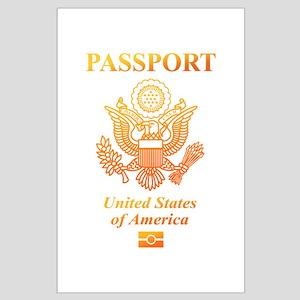 PASSPORT(USA) Large Poster