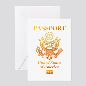 PASSPORT(USA) Greeting Card