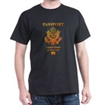 PASSPORT(USA) Dark T-Shirt