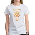 PASSPORT(USA) Women's T-Shirt