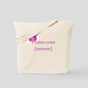 Personalized Princess Tote Bag