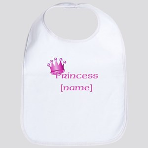 Personlized Princess Bib