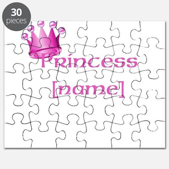 Personlized Princess Puzzle