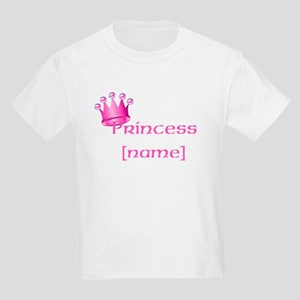 Personlized Princess Kids Light T-Shirt