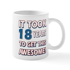 18th Birthday Mugs