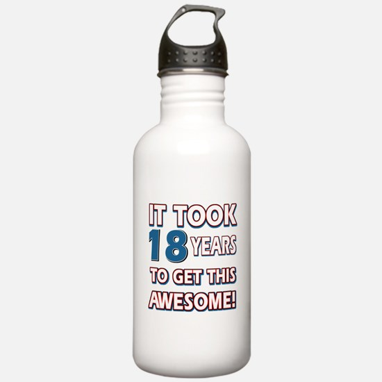 18 Year Old birthday gift ideas Water Bottle
