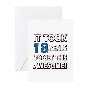 18th Birthday Greeting Cards