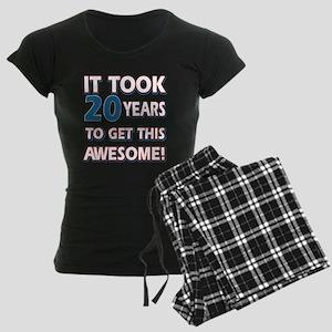 20 Year Old Birthday Gift Ideas Womens Dark Pajam