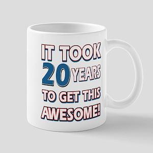 20 Year Old Birthday Gift Ideas Mug