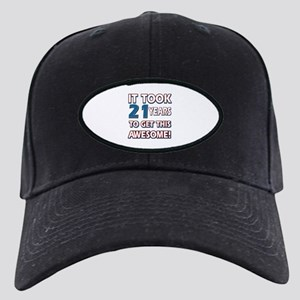 21 Year Old birthday gift ideas Black Cap