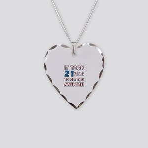 21 Year Old Birthday Gift Ideas Necklace Heart Cha