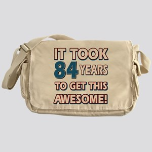 84 Year Old birthday gift ideas Messenger Bag