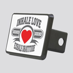 Inhale Love, Exhale Gratitude Rectangular Hitch Co