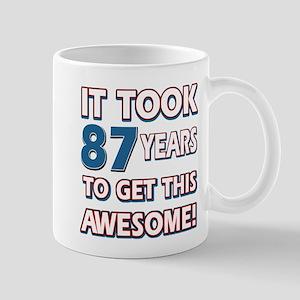 87 Year Old birthday gift ideas Mug