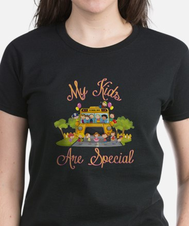 School bus driver Women's Dark T-Shirt