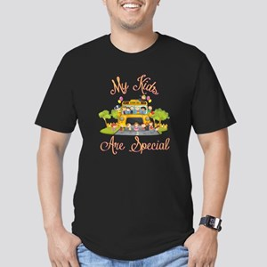 School bus driver Men's Fitted T-Shirt (dark)