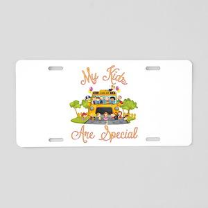 School bus driver Aluminum License Plate