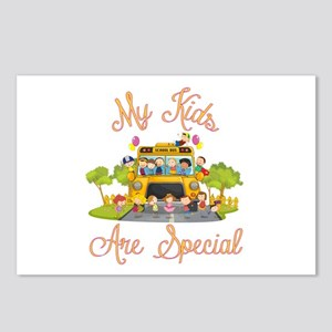 School bus driver Postcards (Package of 8)