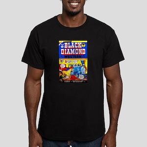 Black Diamond Western #18 Men's Fitted T-Shirt (da