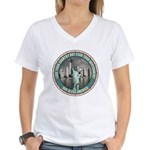 Fear Your Government Women's V-Neck T-Shirt