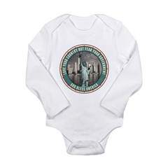 Fear Your Government Long Sleeve Infant Bodysuit
