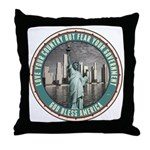 Fear Your Government Throw Pillow