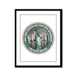 Fear Your Government Framed Panel Print