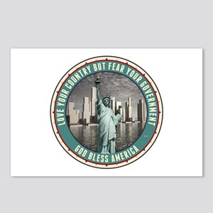 Fear Your Government Postcards (Package of 8)