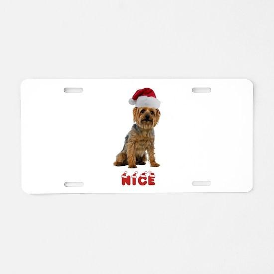 Nice Silky Terrier Aluminum License Plate