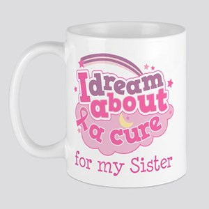 Breast Cancer Cure For Sister Mug