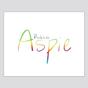 Proud to be Aspie Small Poster