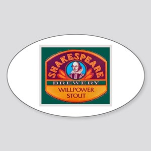 New Zealand Beer Label 10 Sticker (Oval)