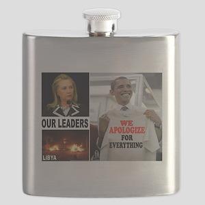 LIBYA APPEASERS Flask
