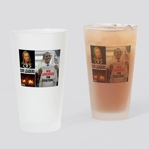 LIBYA APPEASERS Drinking Glass