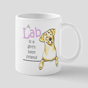Yellow Lab BF Mug