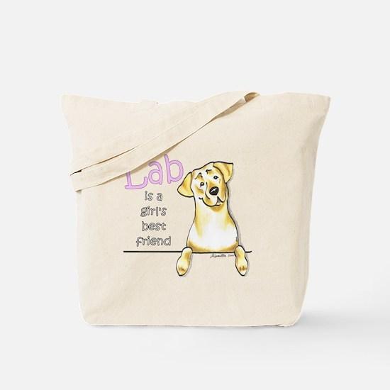 Yellow Lab BF Tote Bag