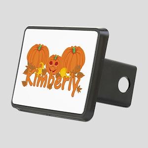 Halloween Pumpkin Kimberly Rectangular Hitch Cover